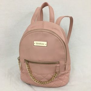 Bebe blush pink Mini BackPack